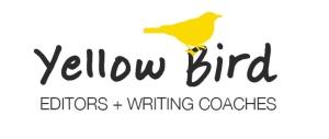 Yellow Bird wordmark with bird_color